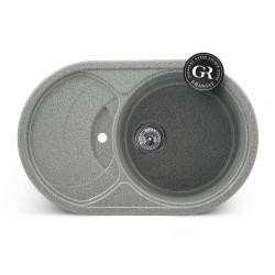 Мойка кухонная врезная каменная Graniat GR-12 770х490 мм