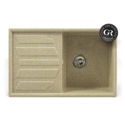Мойка кухонная врезная каменная Graniat GR-13 785х490 мм