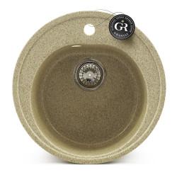 Мойка кухонная врезная каменная Graniat GR-3 500х500 мм