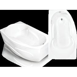 Акриловая ванна угловая Bach Стар левая/правая, 168х100(61), 340 л.