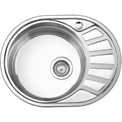 Мойка кухонная врезная из нержавеющей стали Ledeme L65745-6L