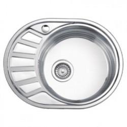 Мойка кухонная врезная из нержавеющей стали Ledeme L65745-R
