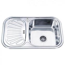Мойка кухонная врезная из нержавеющей стали Ledeme L67549-R