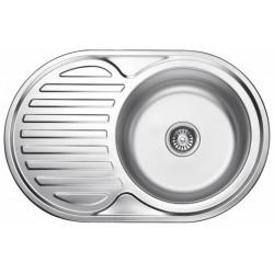 Мойка кухонная врезная из нержавеющей стали Ledeme L67750-6R