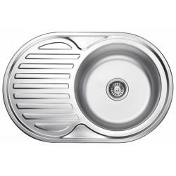 Мойка кухонная врезная из нержавеющей стали Ledeme L67750-R