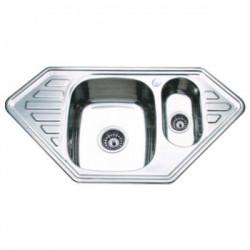 Мойка кухонная врезная из нержавеющей стали Ledeme L69550B