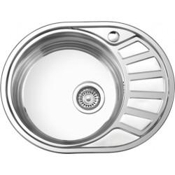 Мойка кухонная врезная из нержавеющей стали Ledeme L75745-6L